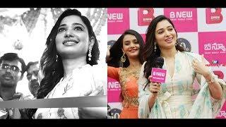 Actress Tamanna Launches B New 50th Mobile Store At Vizianagaram