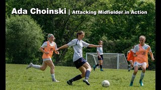 Ada Choinski | Attacking Midfielder in Action | Girls can Shoot like Cristiano Ronaldo