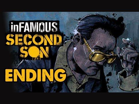 inFamous: Second Son Walkthrough Part 3 - ZEKE! - ENDING - Cole's Legacy DLC  - (PS4 1080p)