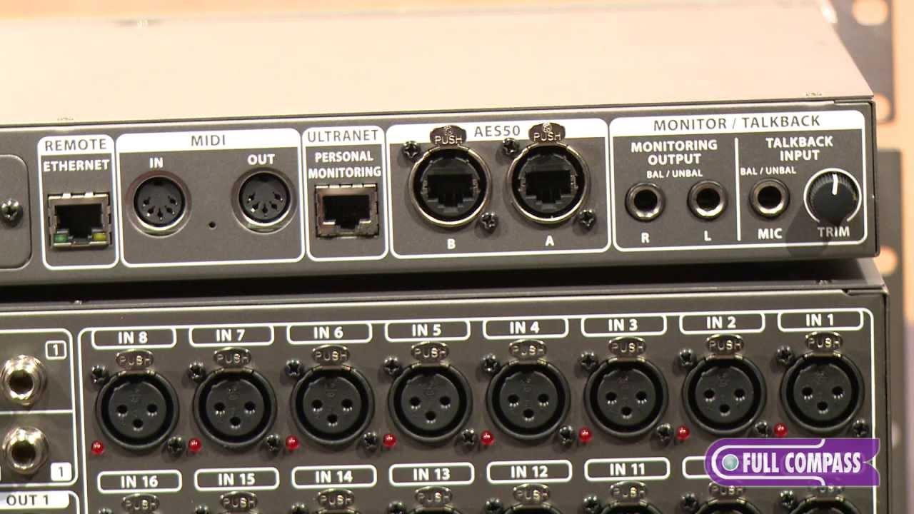 Behringer X32 Core And Rack 40 Input 25 Bus Rackmount