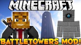 Minecraft EPIC Battle Towers Mod - More Dungeons + Random Loot - Mod Showcase