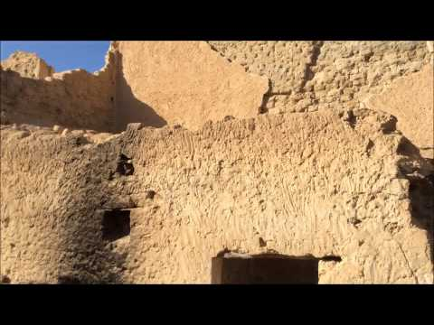 the 11th century ghost town of tamacine, algeria