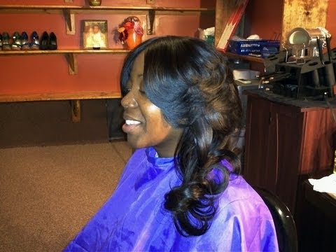 INVISIBLE PART SEW IN WEAVE Patricia (NOT A TUTORIAL)