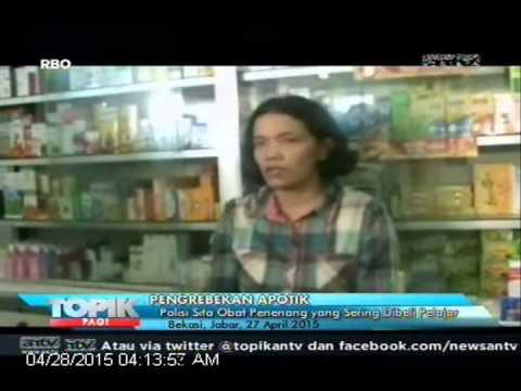 [ANTV] TOPIK Polisi Sita Obat Penenang yang Sering Dibeli Pelajar
