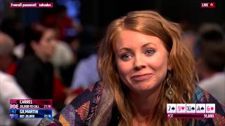 Lynn Gilmartin Tries to Bluff Charlie Carrel | PokerStars