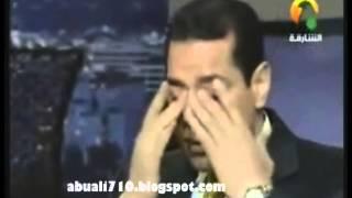 مذيع قناة الشارقة يبكي أمام الشيخ محمد حسان