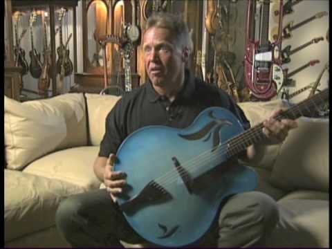 SCOTT CHINERY'S BLUE GUITARS Part 1
