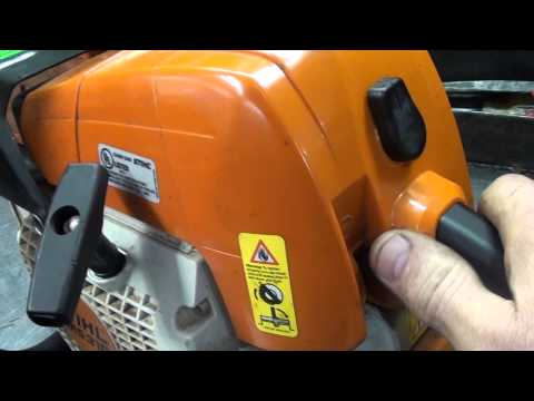 The chainsaw guy shop talk MS 290 MS 310 Stihl Chainsaw Master control repair