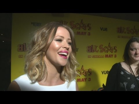 Kimberley Walsh interview at All Stars movie premiere