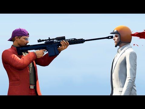 MOST BRUTAL SNIPER KILL IN THE WORLD! (GTA 5 Funny Moments)