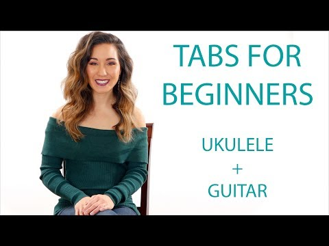 How To Read Tabs for Beginners -Guitar/Ukulele Play Along Exercises
