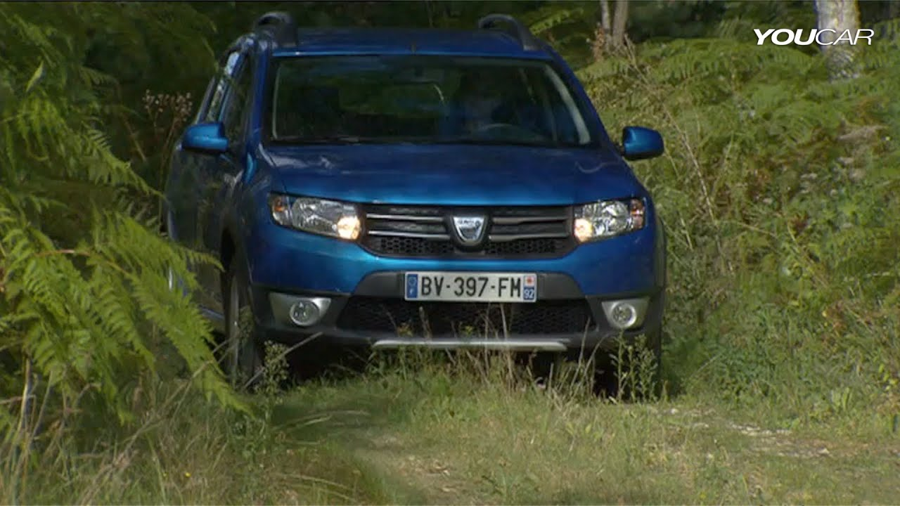 2013 dacia sandero stepway youtube. Black Bedroom Furniture Sets. Home Design Ideas