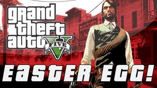 "Grand Theft Auto 5 | Red Dead Redemption ""Escalera"" Easter Egg (GTA V)"