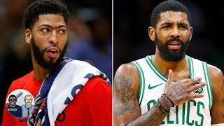 Did Anthony Davis' agent plant stories about Kyrie Irving joining the Knicks? | Jalen & Jacoby