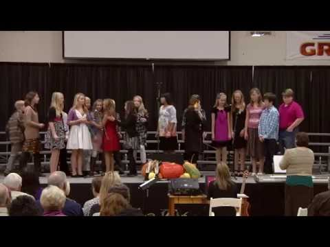 Santiam Christian School's Opening Ceremony fort Grandparents Day 2012