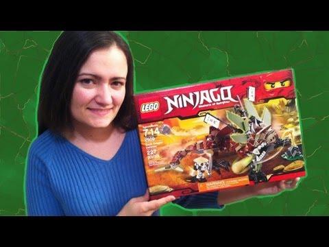 LEGO 2509 Earth Dragon Defense LEGO Ninjago Review