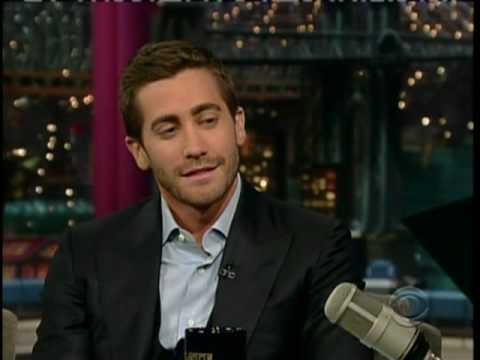 Jake Gyllenhaal on David Letterman (5.24.10) (Part 1) Video