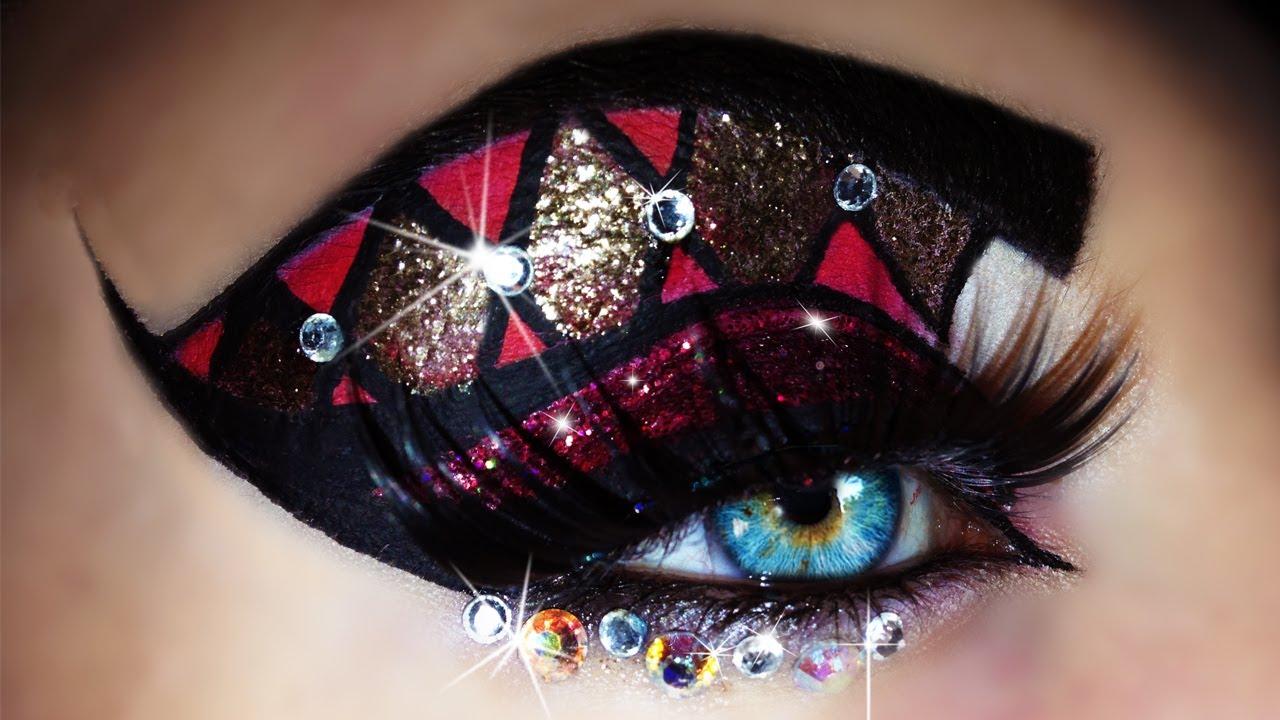 Carnival Mardi Gras Makeup Tutorial Trucco Carnevale