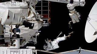 Space Station Spacewalkers Work on a Cosmic Particle Detector on This Week @NASA – November 22, 2019
