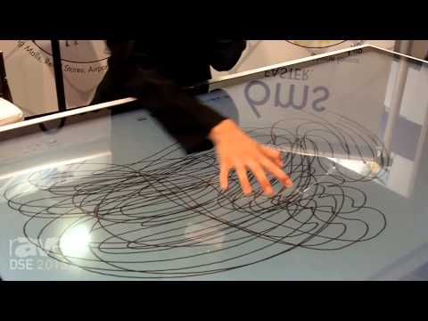 DSE 2015: Cima NanoTech Shows 57″ Interactive Table With Response Time of Less Than 6 Milliseconds