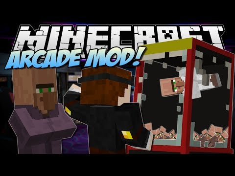 Minecraft   ARCADE MOD! (Claw Machines. Prizes & More!)   Mod Showcase