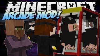 Minecraft   ARCADE MOD! (Claw Machines, Prizes & More!)   Mod Showcase
