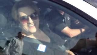 Carol Goldsmith BMW Hot Lap