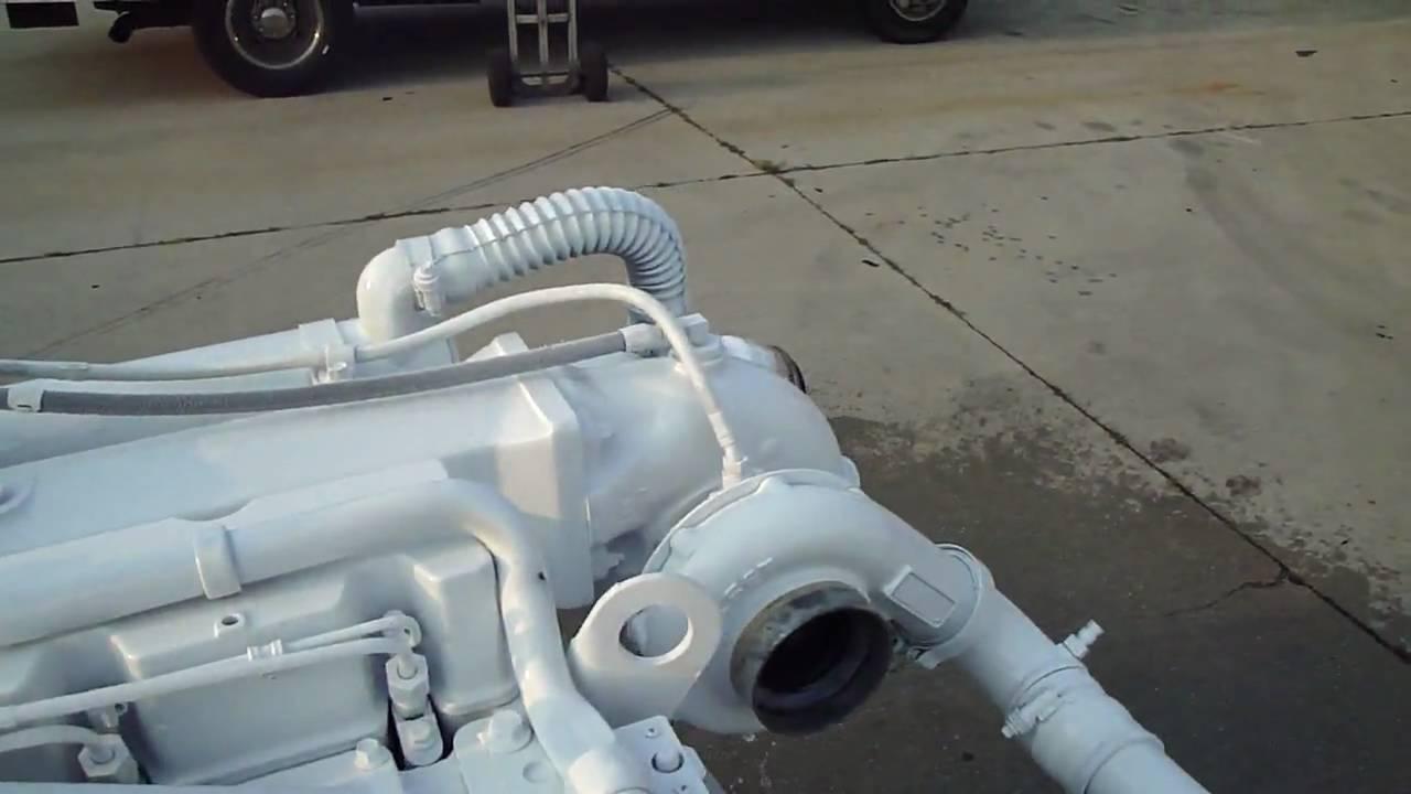 Cummins 6cta 8 3-m3 Fresh Water Cooled Marine Diesel