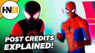 Spider-Man Into the Spider-Verse Post Credits Scene EXPLAINED
