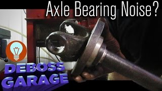 How To Replace A Front Axle Bearing & Seal on a 4WD Case IH (Part 2)