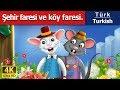Şehir faresi ve köy faresi - Peri Masalları - Çocuklar İçin Uyku Masalları - Turkish Fairy Tales