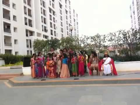 Girls Singing O My Friend Ganesha video