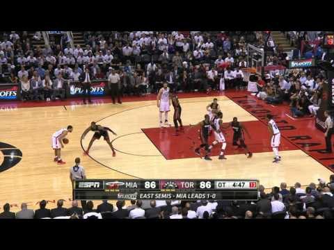 Raptors Prevail in OT to Even Series with Heat 1-1