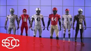 2018 Week 12 of college football uniforms: Notre Dame, Harvard, Yale & Louisville | SportsCenter