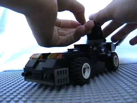 Custom Lego Batmobile Review and HAPPY 2012!!!!
