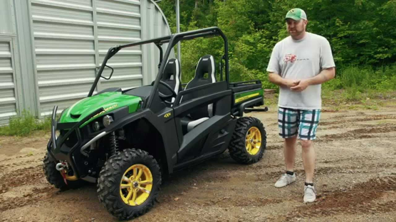 John Deere Gator >> TEST RIDE: 2014 John Deere RSX 850i - YouTube