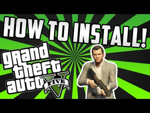 GTA V: How To Install The Game! - (Xbox360/PS3/PC)