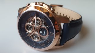 FOSSIL ME3029 Automatic. Обзор\\Review