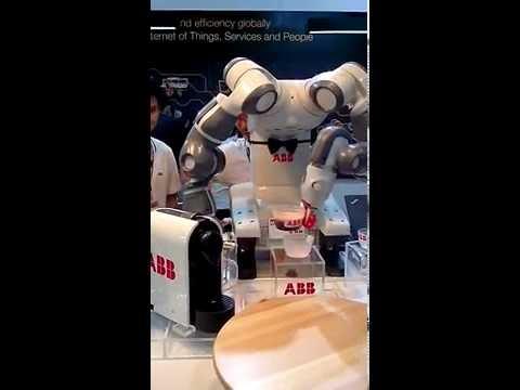 ABB Barista Robot Coffee Maker