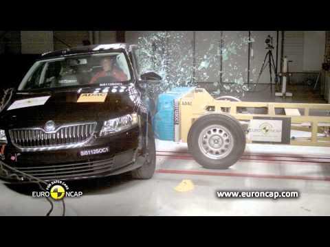 Euro NCAP | Skoda Octavia | 2013 | Краш-тест