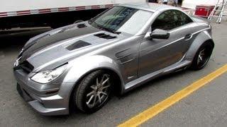 2012 Mercedes-Benz SLK55 AMG R by CustomRide.ca  - Peel Paddock 2013 - Montreal Formula 1 Weekend