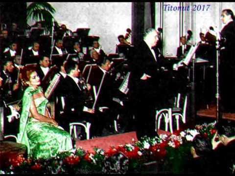 Callas and Gigli Concert from Leyends San Remo 1954 Live Wonderful Sound HD Titonut 2017