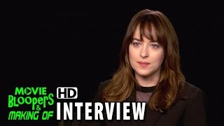 Fifty Shades Of Grey (2015) Behind The Scenes Movie Interview - Dakota Johnson (Anastasia Steele)