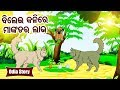 Bilei Kalire Mankadara Labha ବିଲେଇ କଳିରେ ମାଙ୍କଡ ଲାଭ Odia Moral Stories For Kids | Sidharth TV