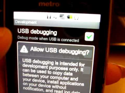 Tutorial] How To Root The LG OptimusM From MetroPCS (FOR VER 2.2.1