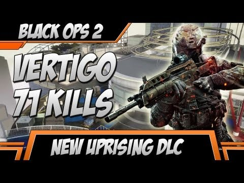 VERTIGO Gameplay - Black Ops 2 Multiplayer Map - Uprising DLC BO2 Gameplay/Commentary