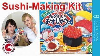 Japanese Food Series: Popin' Cookin' Sushi-Making Kit | FROM JAPAN