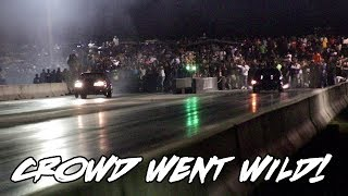 THE CROWD WENT CRAZY AFTER THIS HUGE RACE!! HIROSHIMA MUSTANG VS SHAWTY MUSTANG