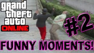 GTA Online (Funny Moments) - Crashing Planes, Wrecking Cars