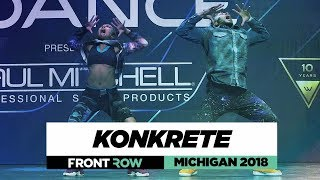 Konkrete ft. Angel | FrontRow | World of Dance Michigan 2018 | #WODMI18
